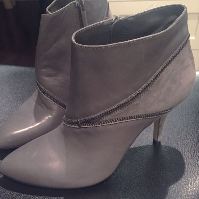 Grey Saks Fifth Boots