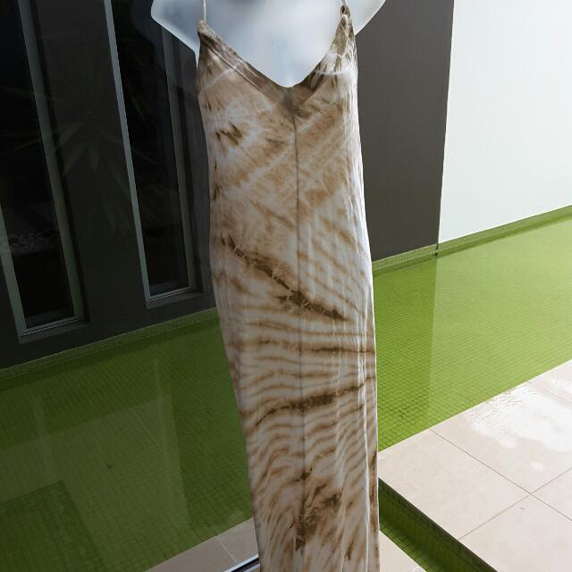 GYPSY tie Dyed Dress Xs
