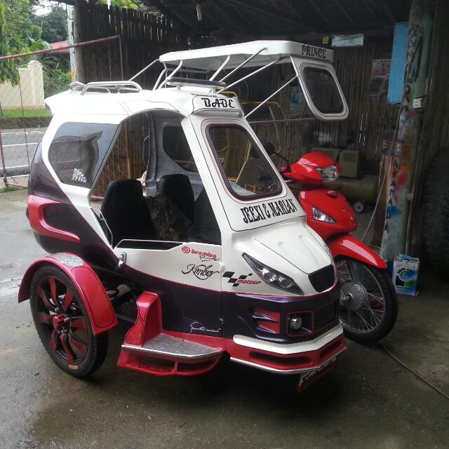 Honda Wave 110 with sidecar on Carousell