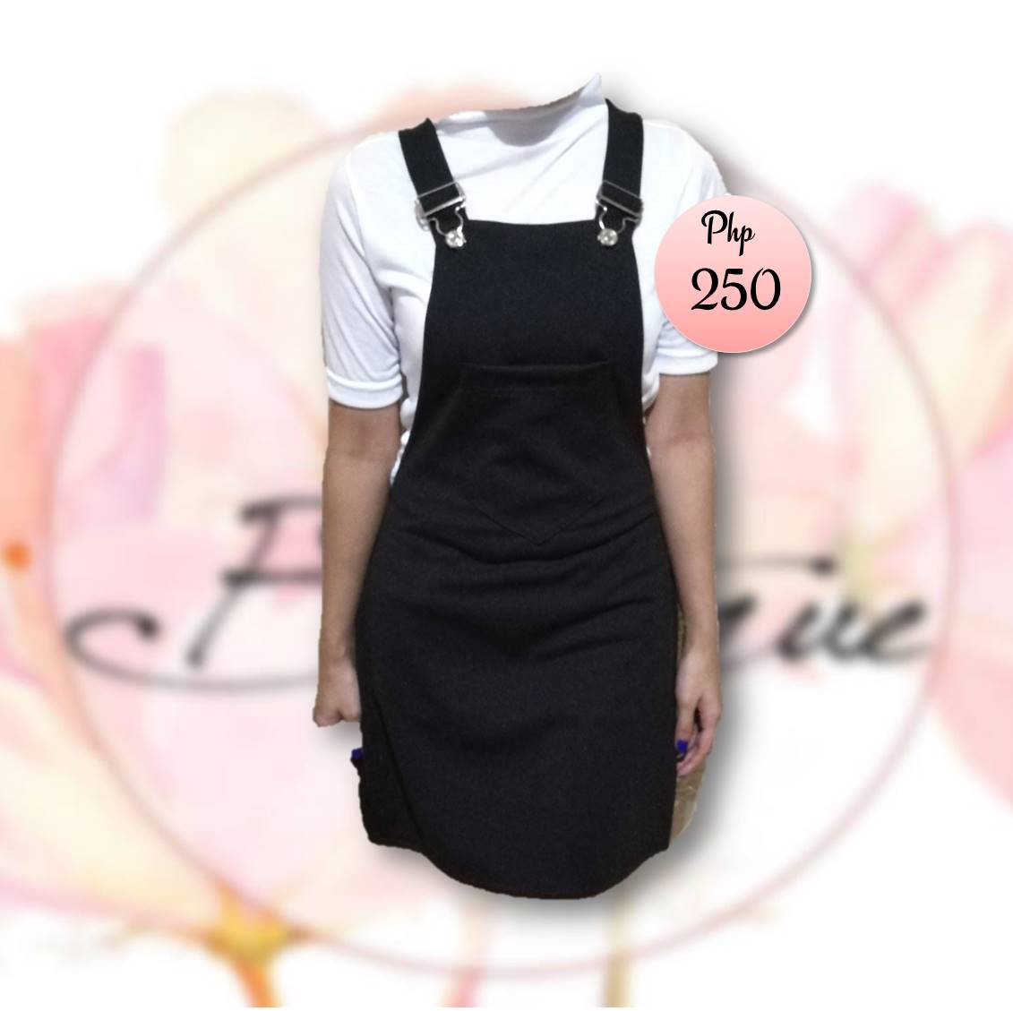Jumper short skirt (Black)