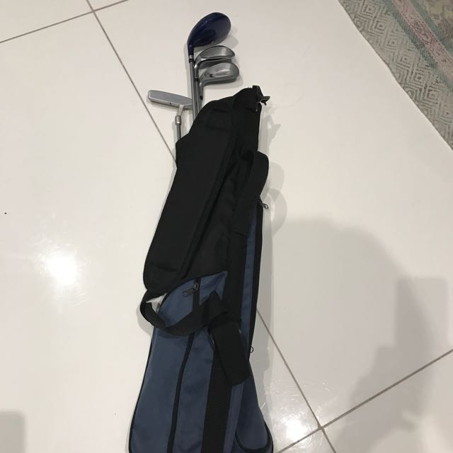 Kids Left Handed Golf Club Set