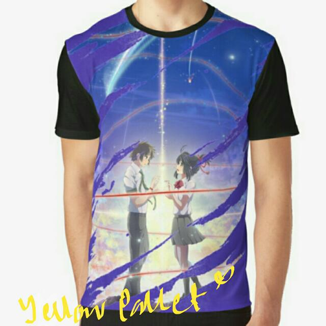 Kimi No Na Wa Shirt Your Name Anime Bulletin Board Preorders On