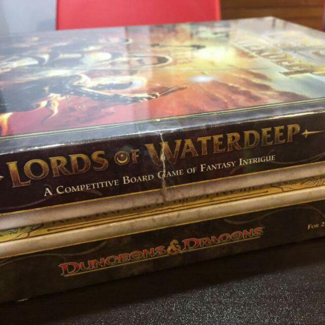Lords of Waterdeep with Scoundrels of Skullport expansion
