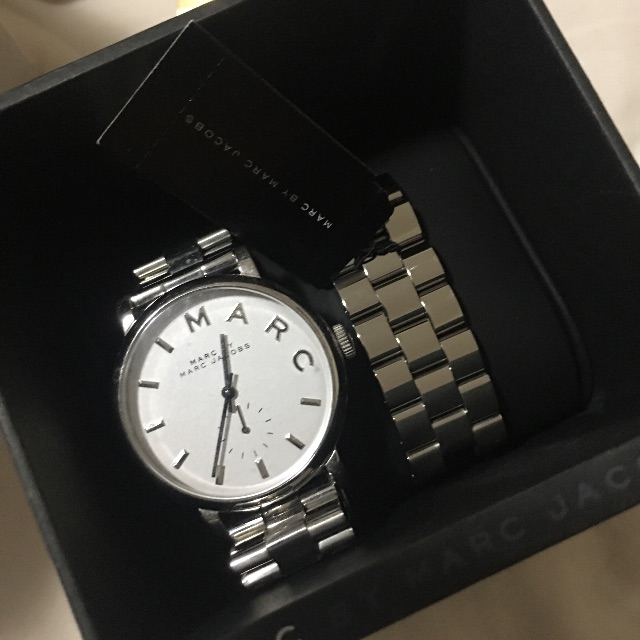 Marc Jacobs Baker Watch - SIlver