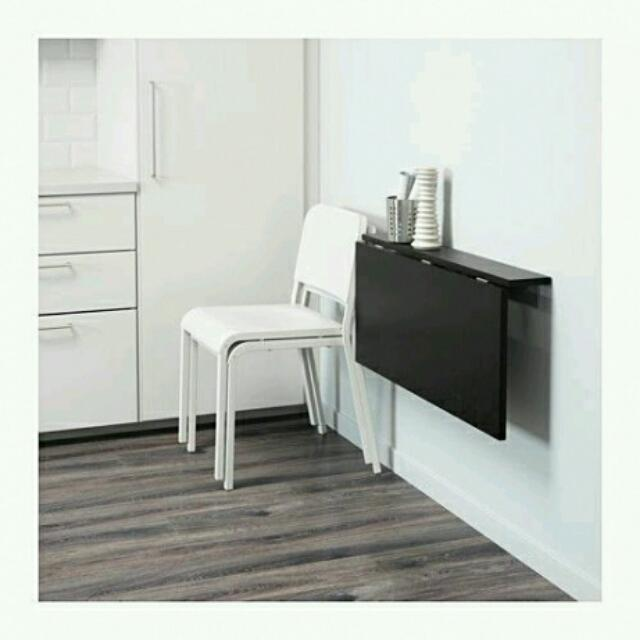 Meja Lipat Dinding Home Amp Furniture On Carousell