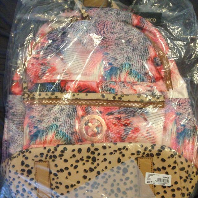 Mimco Flamingo Backpack