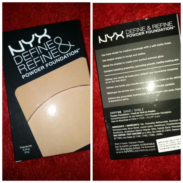 Reprice: Nyx Define & refine Powder Foundation
