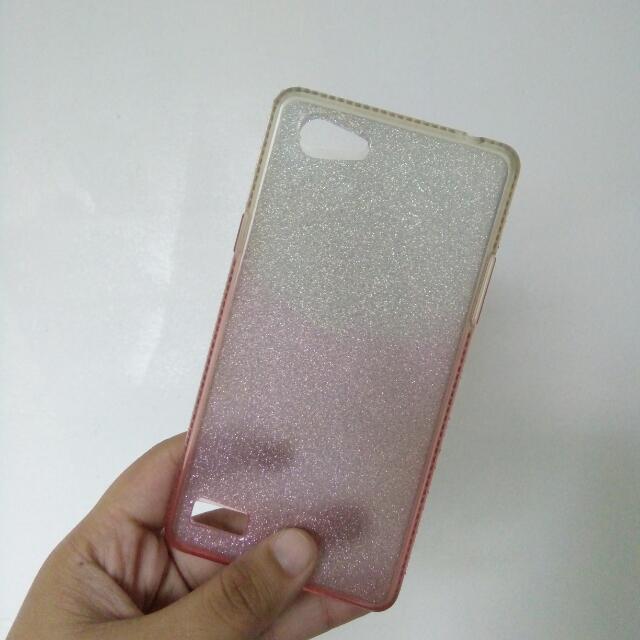 OPPO Neo7 Glitters Jelly Case