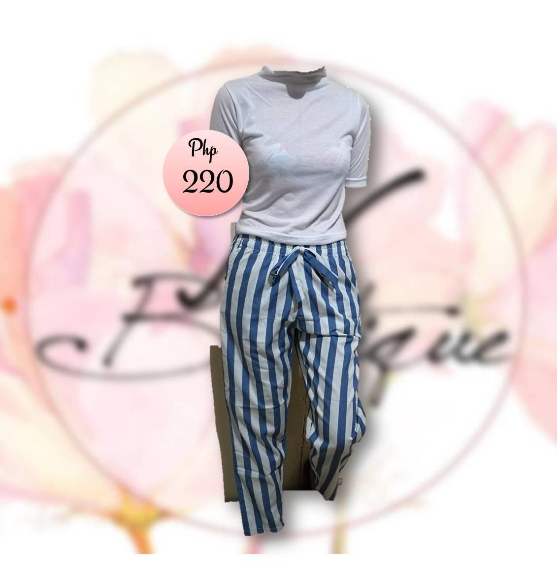 Pants (Blue/White)