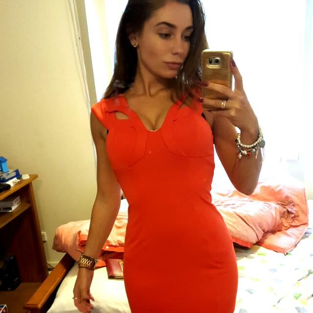 Paradisa fitted Dress
