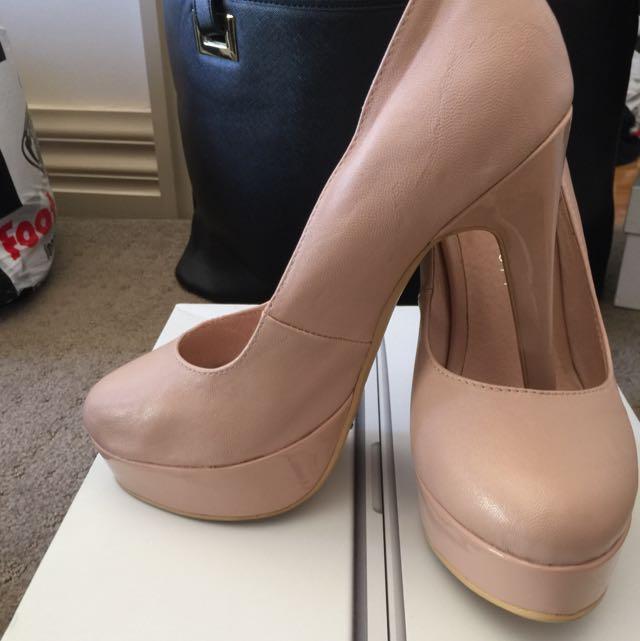 pink her majesty (london rebel) heels