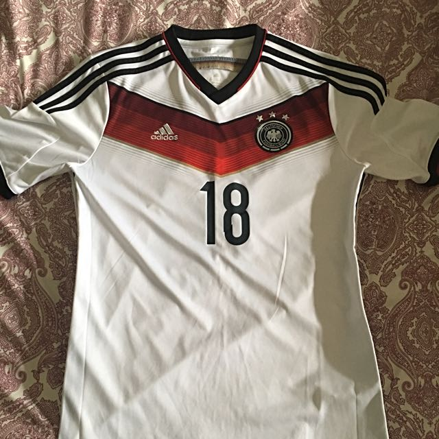 e5b12653c Pre- Loved Original Germany National Team Jersey With Toni Kroos ...