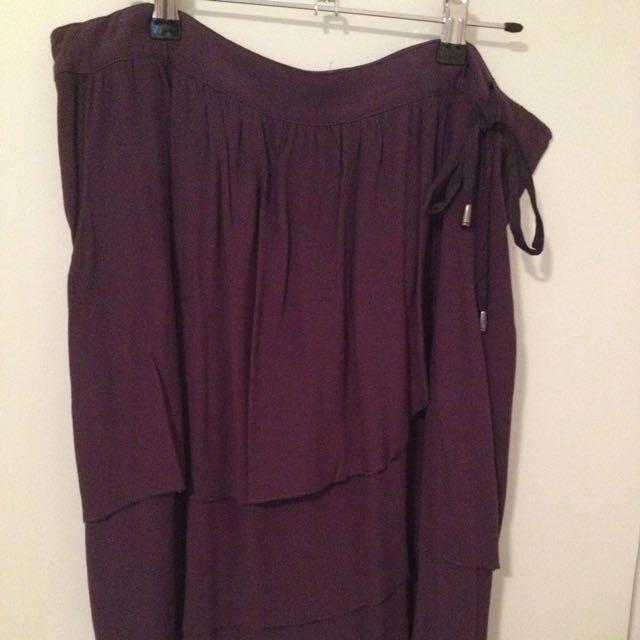 Purple Layered Skirt