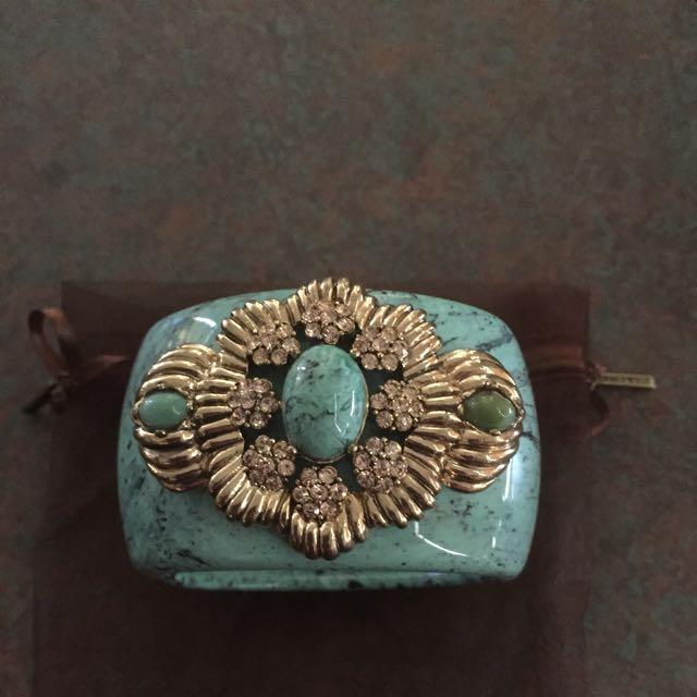 Samantha Wills Chunky Turquoise Bangle