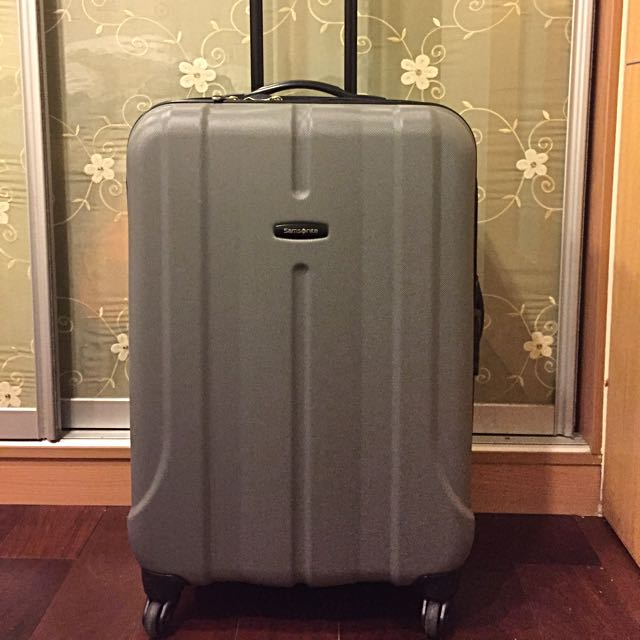 samsonite 硬殼可擴充24吋 行李箱