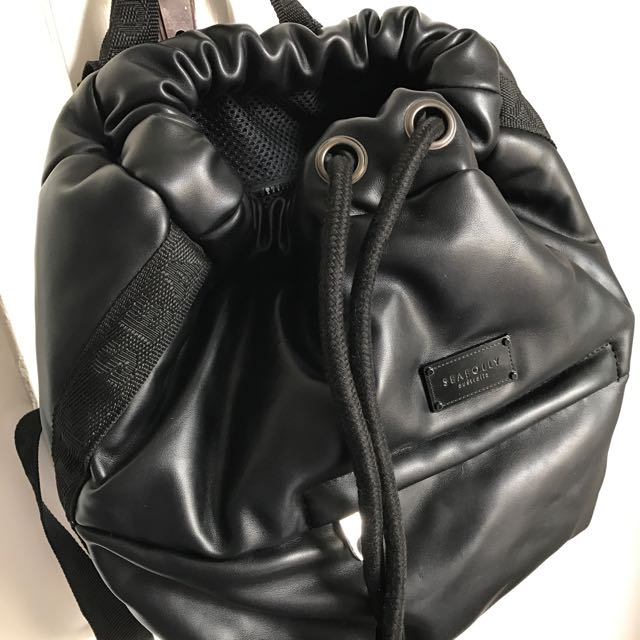 Seafolly leather look Backpack