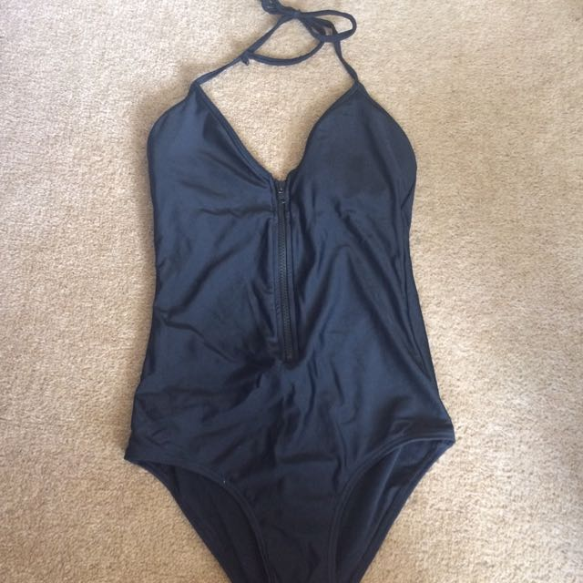 Size 8 Black Swimsuit