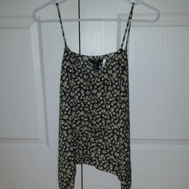 Size 8 H&M Floral Top