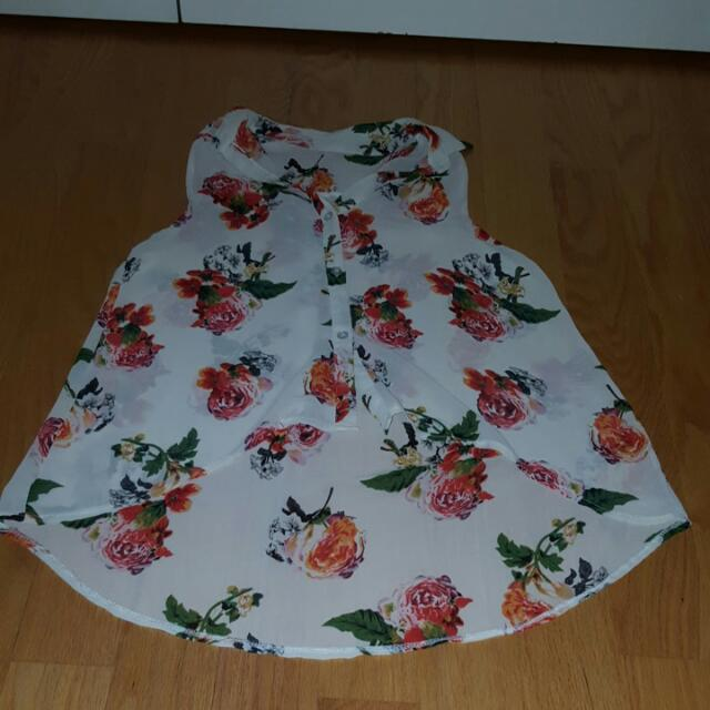 Small/Medium Floral Top