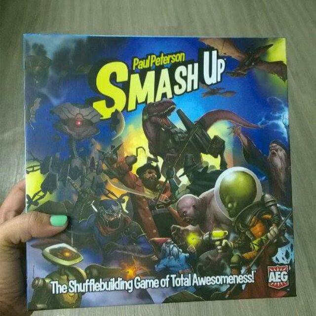 Smash Up! base game