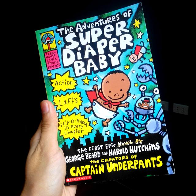 The Adventures of Super Diaper Baby George Beard and Harold Hutchins