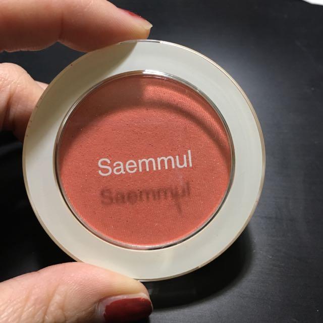 The Seam 粉橘色腮紅