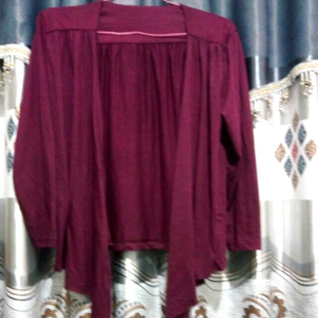 Woman Outer Dark Purple