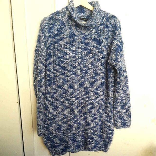 Zara Knit Oversized Turtleneck