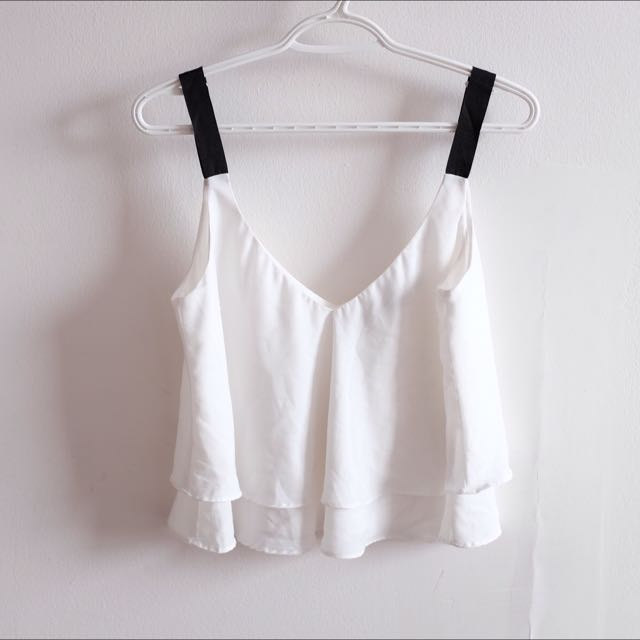 Zara Low Neck Top