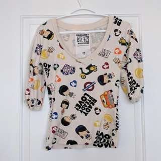 Harajuku Lovers Sweater/Shirt - Small