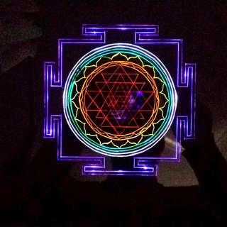 Mantra Rainbow Chakra Mirror