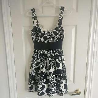 Empire Waist A-Line Dress