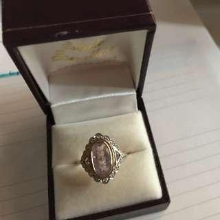 Amethyst Gem Antique Ring