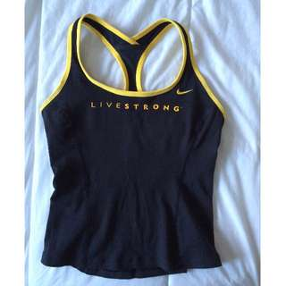 NIKE LIVESTRONG TANK WOMEN'S SIZE SMALL