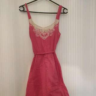 Cotton. Sundress Size 8-10