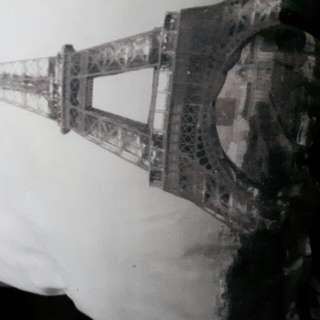 Eiffel Tower Throw Pillows