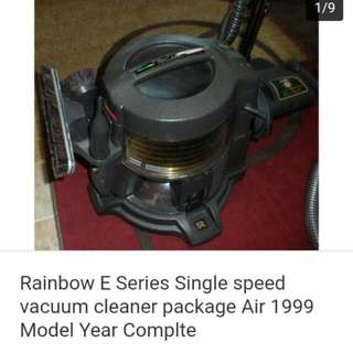 Rainbow pn-E2 Vacuum With Accessories