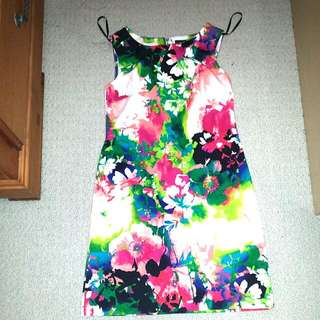 Floral Print Dress From JC Penny