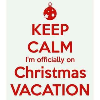 Hi guys i'm on vacation!