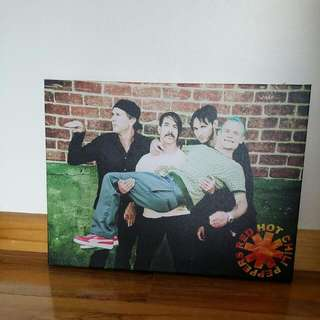 Red Hot Chili Peppers Canvas