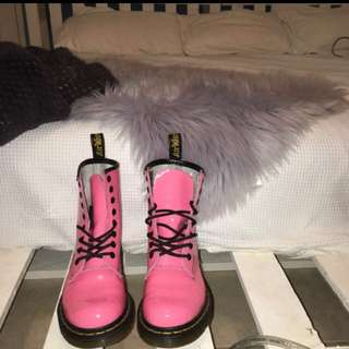 Acid Pink Docs Martins