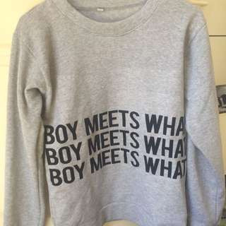 BTS boy Meets What Sweater