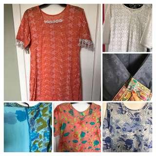 Bulk 6 Brand New Pakistani Clothes