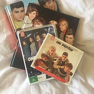 One Direction BOOKS+ALBUM+DVD