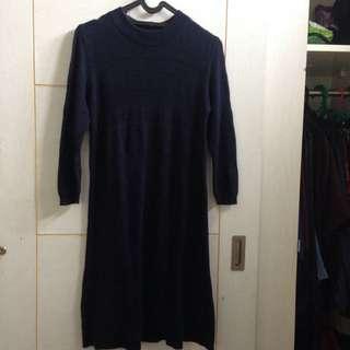 stradivarius knit dress