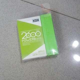 Portable 2600mAh Powerbank