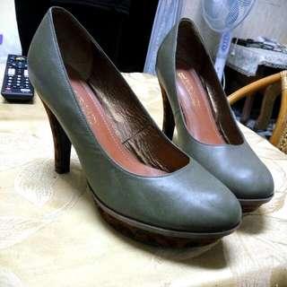 🚚 Fairlady 高跟鞋 專櫃品牌 真皮 zara hm
