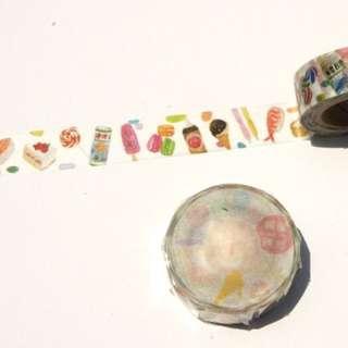 針線球 YarnBall 嘴饞時刻 紙膠帶 分裝