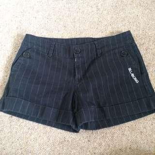 Black Billabong Denim Shorts