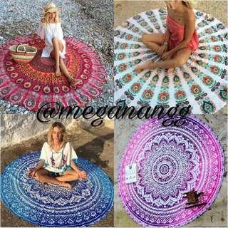 {po} mandala tapestry
